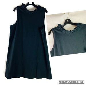 Vineyard Vines Martha Stewart Black Sheath Dress